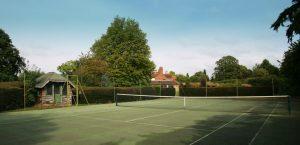 Corporate Retreat Tennis Court