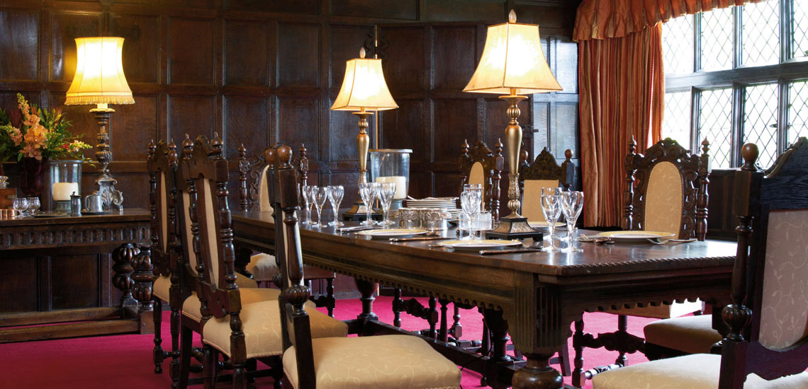 fine dining options in our country manor great tangley manor