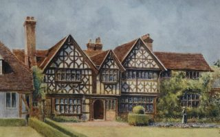 Great-Tangley-Manor-historic-house-exterior-surrey-countryside