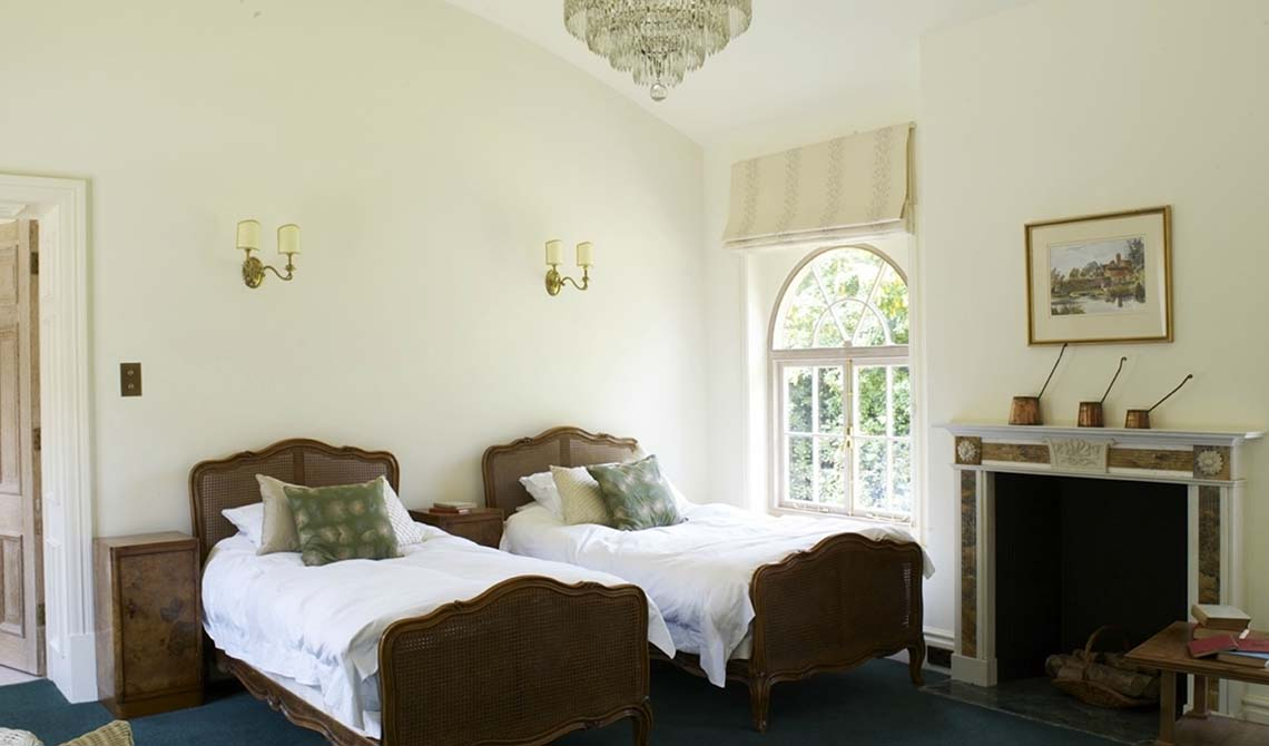 Manor House Twin Bedroom